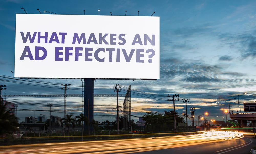 What makes an Ads Effective?